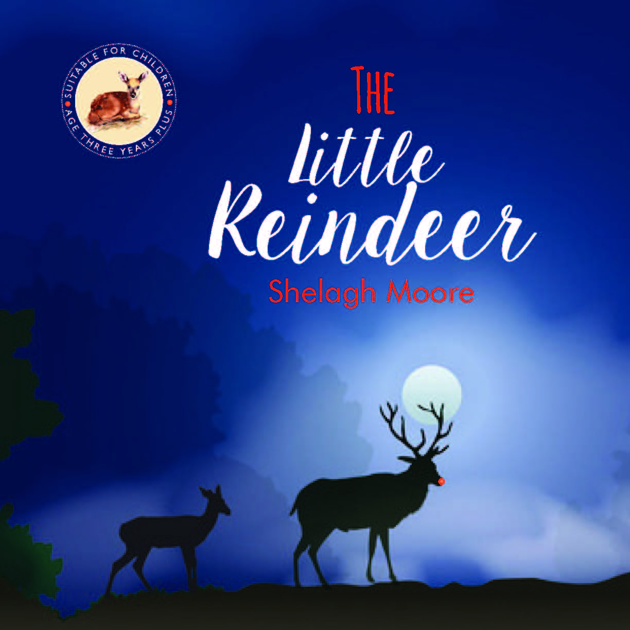 The Little Reindeer book cover