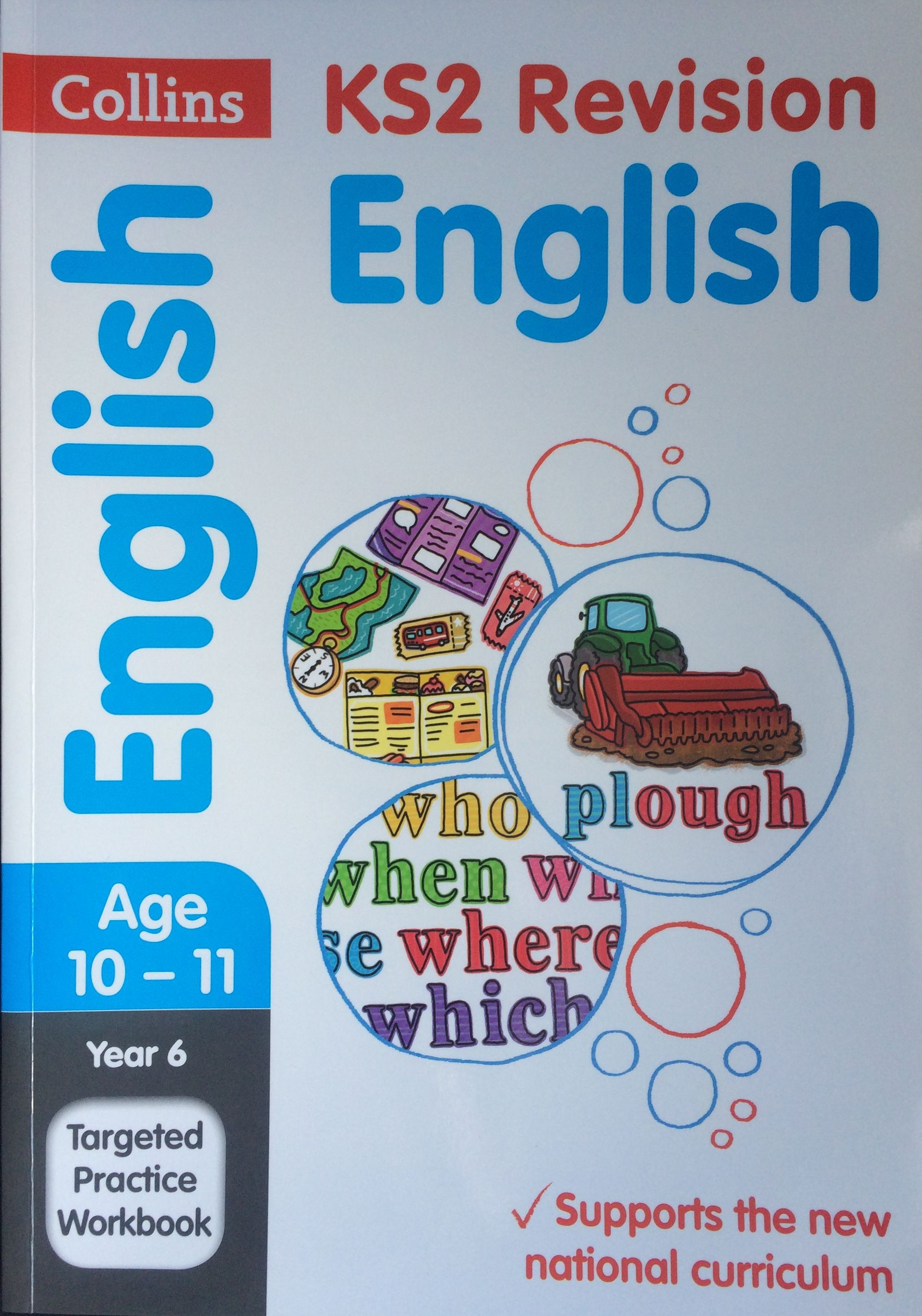 Collins KS2 Revision English Targeted Practice Workbook front